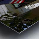 Patriotic Barber Shop Metal print
