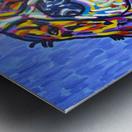 Colorful Smile Metal print