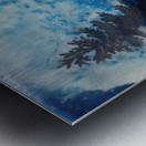 Crystal White Metal print
