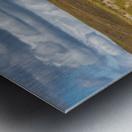 Trails Lead To Water Tanks Metal print