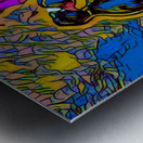 abstract love Metal print