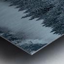 Lake Louise Cabin Metal print