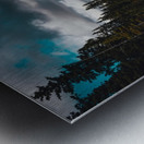 Cascade Mountain Through The Trees Metal print