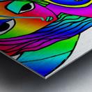 el camino rainbow Metal print