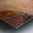Rock Overhang in Valley of Fire Metal print