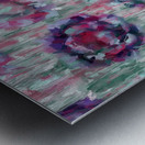 Multicolor Abstract Floral  Metal print