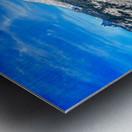 Teton reflection in Jenny lake Metal print