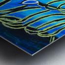 Blue Horse. Glenn N Metal print