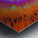 Abstract Sun 33 Metal print