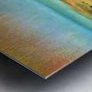 Beach at low tide 1 by Degas Metal print