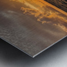 Eleuthera Golden Morning Metal print