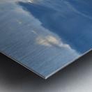 Eleuthera Sun ray Metal print