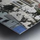 A Street Side In Puerto Rico Series: 1 Metal print