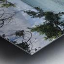 A Street Side in Puerto Rico Series: 3 Metal print