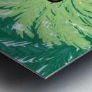Water Yoga Metal print