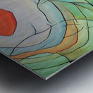 Sun Rings Metal print