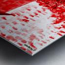 Let Them Eat Cake  -- Red Metal print