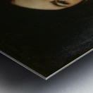 Portrait du baron Antoine d Ezpeleta Metal print