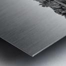 White Bridge Metal print