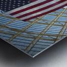 United States Flag Metal print