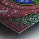 Path of Light Metal print