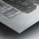 In the Storm Metal print