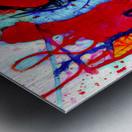 Saxophone Electrified Metal print