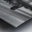 Long Exposure MTL Metal print