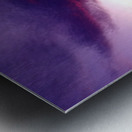 nube 50 Metal print