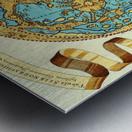 Ancient World Map 11 Metal print