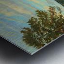 Okah_River_In_August Metal print