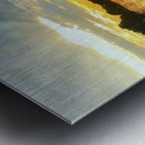 Washington Channel Sunset Metal print