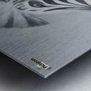 whats up Metal print