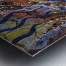 A celebration of Cedar from the Shamanic dance Metal print