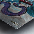 Sea Monster, 1 Metal print