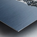 Lake Louise Reflection Metal print