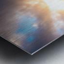 Seafoam Sunrise Metal print