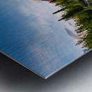 Alaskan Reflection Metal print