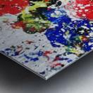 Primary Blossom Metal print