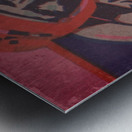 Vintage Football Art_Ticket Stub Reproduction Prints Metal print