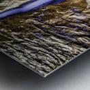 The Crack Metal print