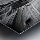 B&W Zebra Slot Canyon I Metal print