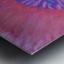 Om pink purple spring 2020 Metal print