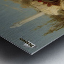 The Oasis Metal print