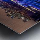 High angle in the slide Metal print