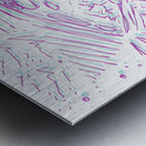 Cosmic Interferenss Metal print