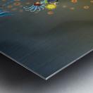 Noppo Ombrello Azure Metal print