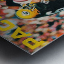 Green Bay Packers Football Poster Row One Brand Sports Art Metal print