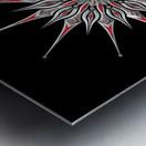 Starfish Fusion Mandala Metal print