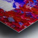 Chimney Bluffs Metal print